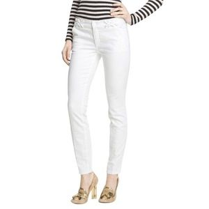 NWOT Tory Burch White Light Izzy Jeans
